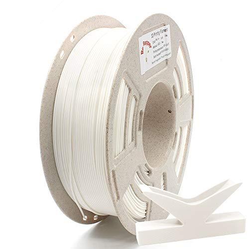 RepRapper 1kg 低反り ABS 3Dプリンターフィラメント 1.75mm ホワイト + 印刷ビルド表面 + ノズル洗浄針