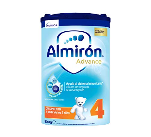 Almirón Advance 4 ,Leche de Crecimiento en Polvo para Bebé desde los 24 Meses, 800g