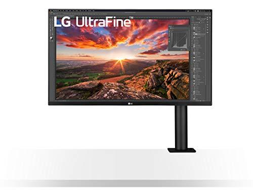 LG Electronics,01 cm Ultrafine Ergo 4K IPS Monitor (ergonomischer Standfuß, HDR10, Gaming Features, AMD Radeon FreeSync), schwarz, 32UN880-B.AEU 32'' Ergo Noir