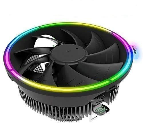 Cpu Disipador Cooler Refrigerador de la CPU LED CPU Intel AMD Ventilador for ordenador y silencioso 3 pines refrigerador ventilador de refrigeración general LGA / 115X / 775 / AM3 / AM4 / 1155/1156 Ac