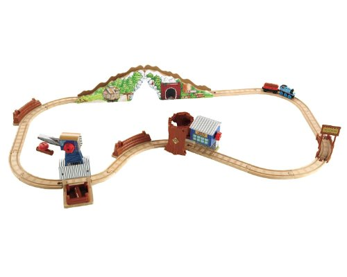 Fisher-Price Thomas & Friends Wooden Railway Tidmouth Timber Co.