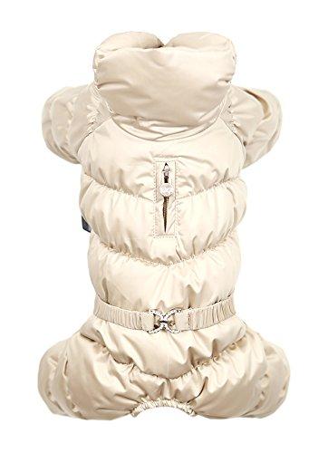 Puppy Angel Luxury Ensemble pour Chien Mâle Beige Taille XL