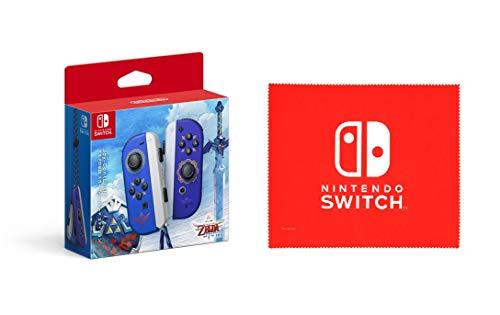 【任天堂純正品】Joy-Con(L)/(R) ゼルダの伝説 スカイウォードソード エディション (【Amazon.co.jp限定】Nintendo Switch ロゴデザイン マイクロファイバークロス 同梱)