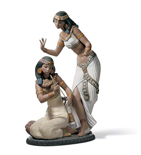 LLADRÓ Figur Tänzerinnen Vom Nil. Tänzerinnen Vom Nil. Porzellan.