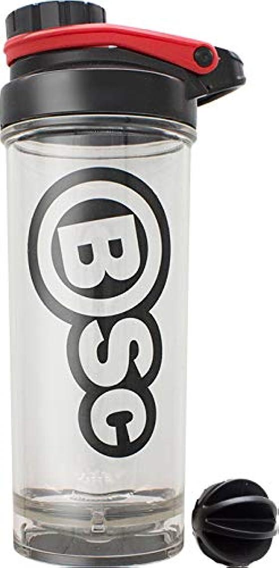 カプラー契約する相互BSC プロテイン シェイカー 800ml BIG シェーカー ボトル 液漏れ防止ラバー付 PBAフリー [海外直送品]
