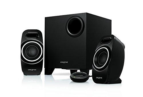 Creative T3250W 2.1 Bluetooth-Lautsprechersystem schwarz