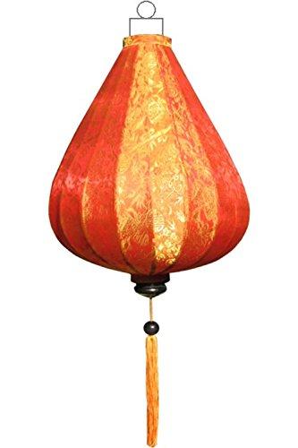 Asiatische Deckenlampen Tropfen Orange by Lampionsenzo