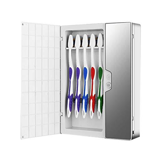 XZANTE Sterilizzatore utomatico Intelligente un Luce UV Per Sterilizzatore Per Spazzolino Da Denti Supporto Per Spazzolino ntipolvere Detergente Montaggio un Parete Rack Bagno