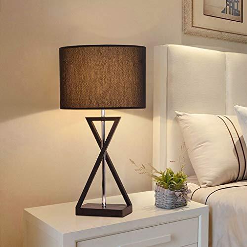 L¨¢mpara de mesa metal¨²rgica n¨®rdica moderna mini l¨¢mpara de cabecera LED sala de estar dormitorio l¨¢mpara de mesa de hotel l¨¢mpara de mesa de noche l¨¢mpara de lectura de mesa(58x30cm)