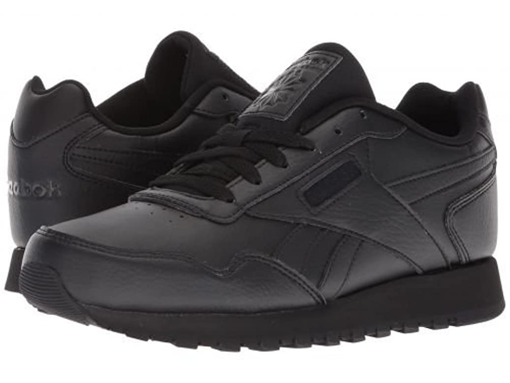 設置葉を集めるシェアReebok(リーボック) レディース 女性用 シューズ 靴 スニーカー 運動靴 Classic Harman Run - Black/Black [並行輸入品]