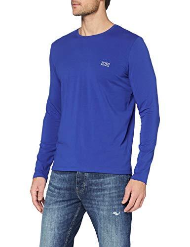 BOSS Mix&Match LS-Shirt R Camiseta Manga Larga, Azul, S para Hombre