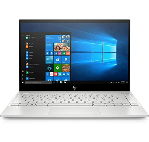 HP ENVY 13-AQ1001NA 13.3' FHD Notebook Intel Core i5-10210U 4.2 GHz, 8GB DDR4, 256GB NVMe M.2 SSD, NVIDIA GeForce MX250, WIFI 6 & Bluetooth 5.0, Windows 10 Pro 64 – UK Keyboard Layout (Renewed)