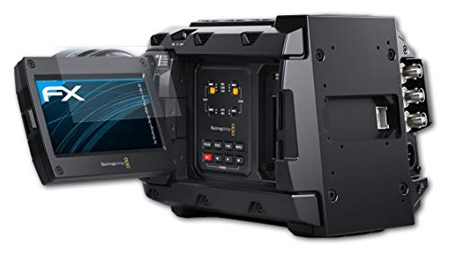 atFoliX Schutzfolie kompatibel mit Blackmagic Design URSA Mini Pro 4.6K G2 Folie, ultraklare FX Bildschirmschutzfolie (3X)