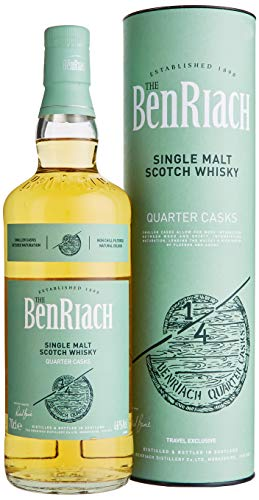 The BenRiach QUARTER CASKS Single Malt Scotch Whisky mit Geschenkverpackung (1 x 0.7 l)