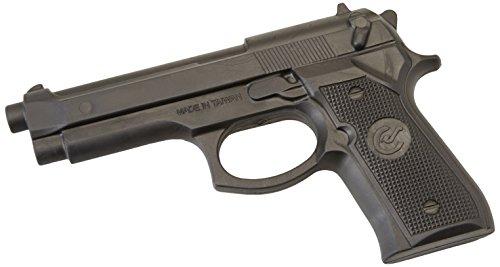 In gomma Lunghezza: 22 cm Con un'apertura per il grilletto Per l'allenamento di varie tecniche di combattimento e di difesa