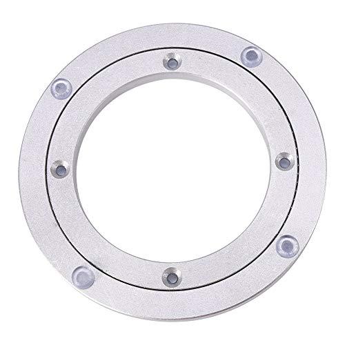 Leinggg Zwenkplaat - high-performance aluminiumlegering draaiende kogeldraaischijf ronde tafel glad zwenkplaat 8 inch