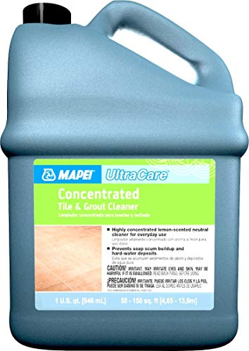 Mapei ITEM611241 Ultracare Concentrated Tile & Grout Cleaner - 1 Quarts