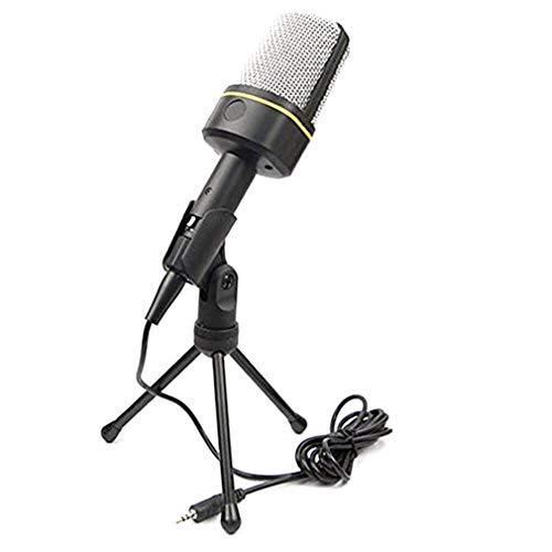 BlackEdragon Mikrofon Computer Aufnahmeständer Großmembran Mikrofon Lautsprecher Schwarz
