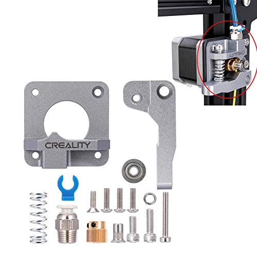 Official Creality MK8 Extruder Drive Feeder Upgraded Replacement Aluminum for Creality 3D Printer Ender 3/3Pro CR-10,CR-10S,CR-10 S4,CR-10 S5 (Grey)