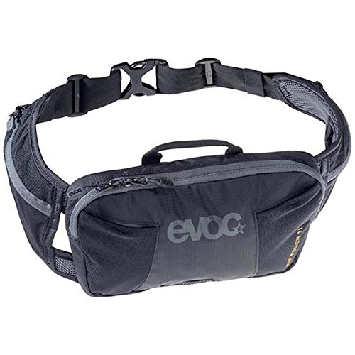 EVOC Hip Pouch 1 Litre Waist Bag, Black, One Size