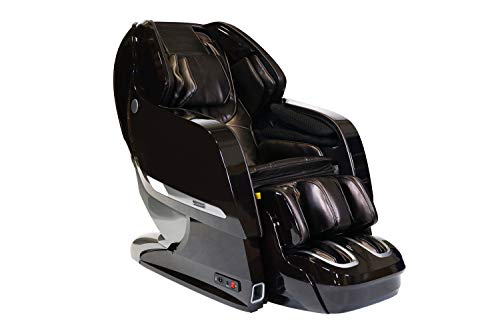 Infinity Imperial Massage Chair Full Body Zero Gravity 3D Massage Chair - Featuring Two Memory Programs Space Saving Technology, Lumbar Heat, and Shiatsu Technique - (Certified Pre-Owned) (Brown)