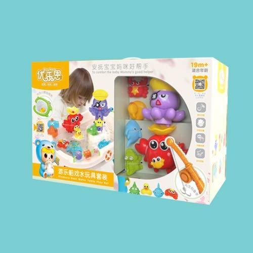 Lihgfw Spielzeug Spielzeug Tisch Kinder Sand Wasser Tisch Jungen und Mädchen Spielen Wasser Spiel Sand innen Sandwasser Spiel Wasserboot Baby Geschenke (Color : Multi-Colored)