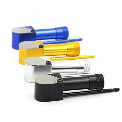 TBDYQQ Tabak Pijp 90 MM Aluminium Rookproto Pijp Metaal Roken Pijpen voor Zink Legering Gemaakt Gemakkelijk Reinigen Alternatieve Kruid Tabak Pijpen
