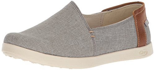 Chaco Women's Ionia Slip On Shoe, Gray, 10.5 M US