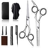 Professional Hairdressing Scissors Set, Hairdresser Barber scissors Hair Cutting thinning Scissors Salon...