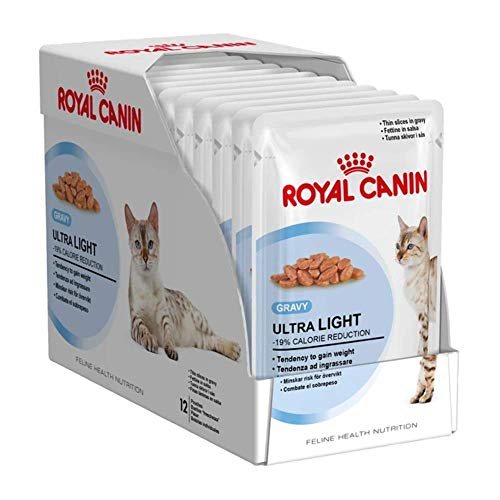 Royal canin wet ultra light kattenvoer 12X85 GR