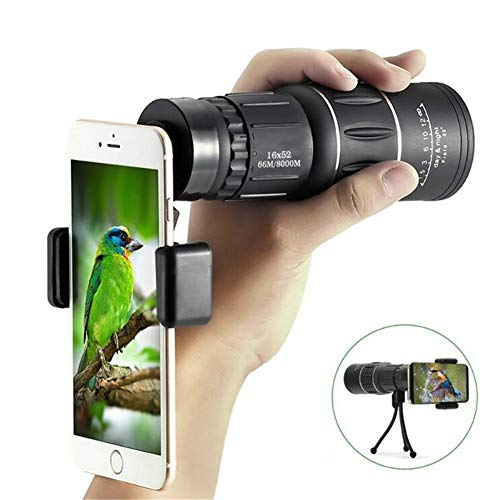 Fantastic Deal! QAZWSX 16 x 52 Dual Focus Monocular Spotting Telescope Zoom Optic Lens Binoculars Co...