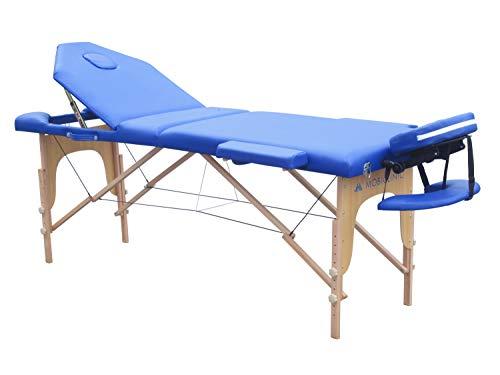 Mobiclinic, Camilla plegable, Madera, CM-01 PLUS, Cama de masaje, Reposacabezas, Portátil, Fisioterapia,...