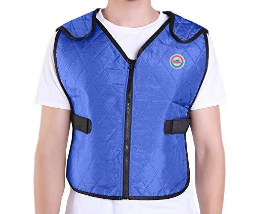 Climafusion Cooling Vest for Women & Men Adjustable Ice Vest Breathable Comfort Psyctic Vest Gear...