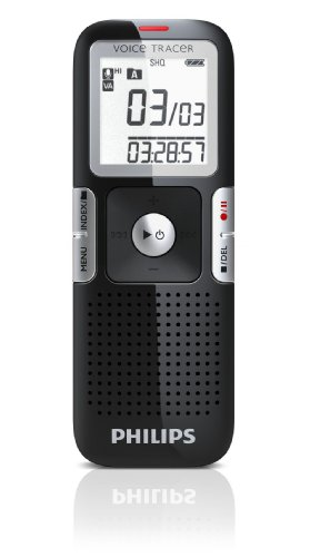 Philips LFH0645/00 Voice Tracer Digitaler Recorder mit ClearVoice