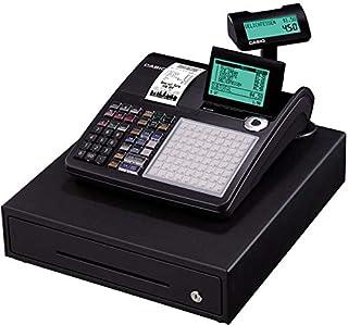 ماكينة الكترونية لتسجيل المدفوعات النقدية لنقاط البيع من كاسيو - لون اسود، SE-C450