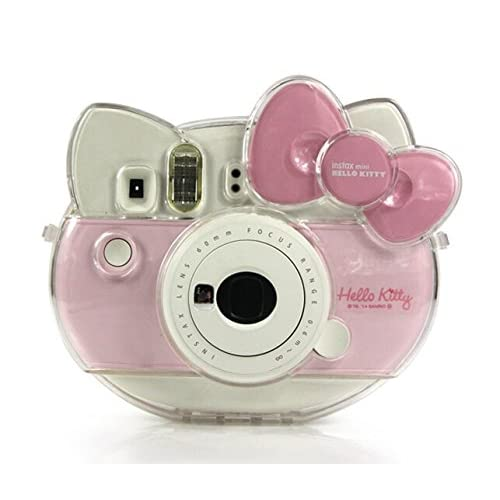 0b21aab99978 CAIUL Compatible Transparent Comprehensive Protection Case for Fujifilm  Instax Mini Hello Kitty Instant Film Camera