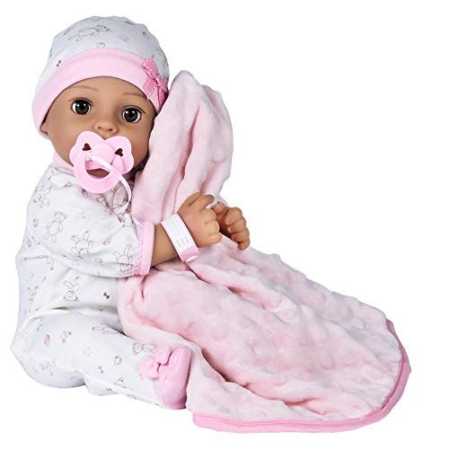 Adora Adoption Baby Precious - 16 inch newborn doll, with accessories and Certificate of Adoption