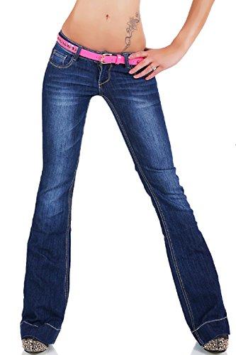 Noir Triple XXX -  Jeans - Flare - Donna