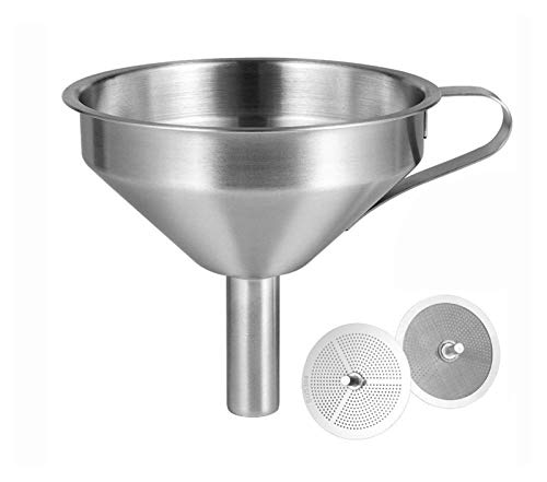 XIAOFANG Fangxia Store 3D Printer Resin Filter Funnel 100% Food Grade Durable Stainless Steel Removable Double-Strainer Filter Fit For SLA/DLP/LCD