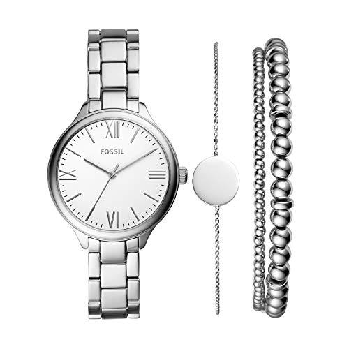 Fossil - Reloj de aleación de Cuarzo para Mujer BQ3542SET