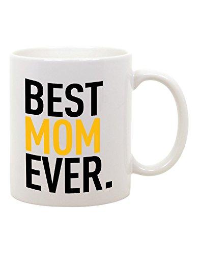 bubbleshirt Tazza Mug in Ceramica Festa della Mamma Best Mom Ever