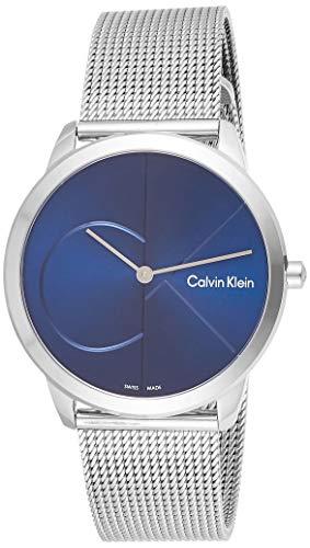 Calvin Klein Orologio Analogico Quarzo Uomo con Cinturino in Acciaio Inox K3M2112N