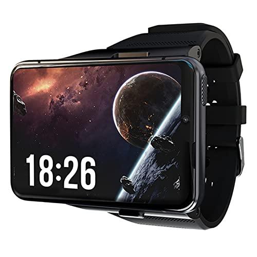 VBF Smart Watch, 4G WiFi, Videollamada De Doble Cámara para Hombres, Reloj Android, Monitor De Ritmo Cardíaco Móvil 4G + 64G Gaming Smart Watch,C