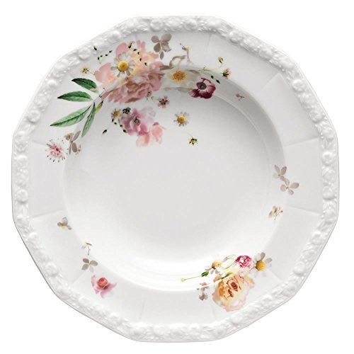 Rosenthal 10430–407165–10323Maria–Pink Rose–Piatto Fondo, 23cm