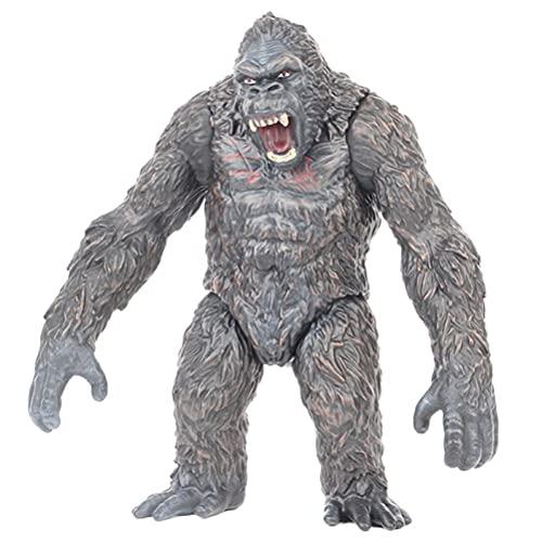 BST-MAI Gorilla di Montagna, King Kong Giocattoli, Grande Realistica Walking Gorilla Wild Animal Figurine Orangutan Figura di Scimmia Regalo per Collezionisti E Ragazzi Bambini dai 3 Anni in su