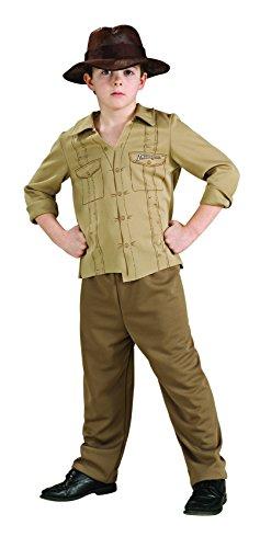 Rubies Costume Co R883124-S Ni-o Indiana Jones Tama-o Peque-o