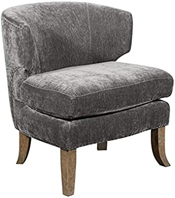 Marvelous Amazon Com Park Avenue Sky Blue Hand Tied Accent Chair And Ibusinesslaw Wood Chair Design Ideas Ibusinesslaworg