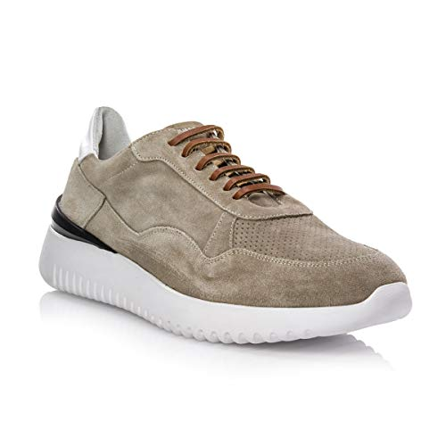 D'Acquasparta Sneakers AD 1.0 Velour Tortora (40 EU)