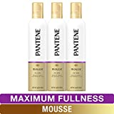 Best Hair Mousses - Pantene Body Boosting Mousse, Pro-V Maximum Fullness, 6.6 Review