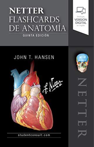 Netter. Flashcards de anatomía (Spanish Edition)